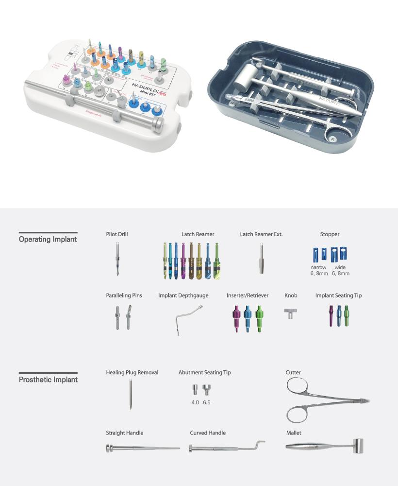 ha duplo implant system mini kit